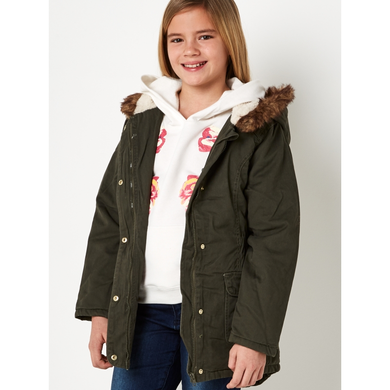 Parka Coat 8-14 years