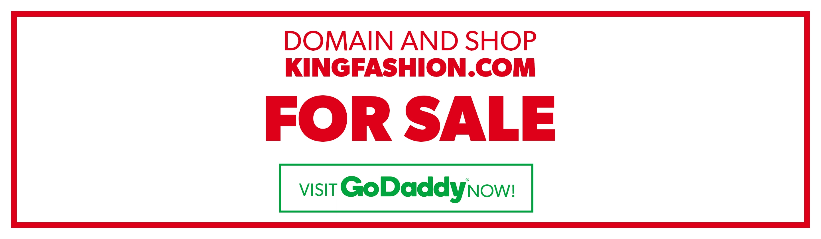 KingFashion.com FOR SALE