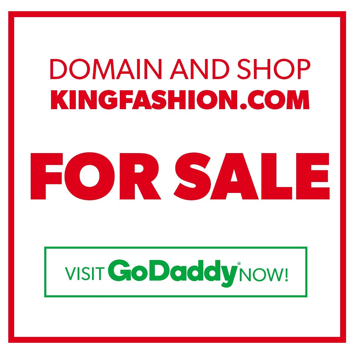 KingFashion.com FOR SALE